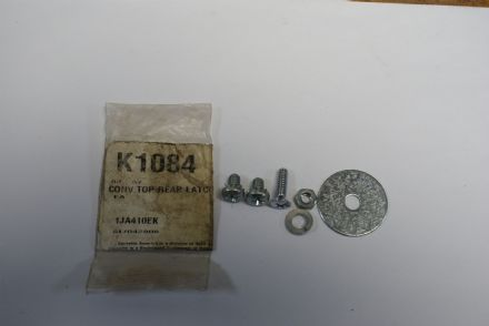 1963-1967 C2 Corvette,Convertible Top Rear Latch Screw Set,New,Box A